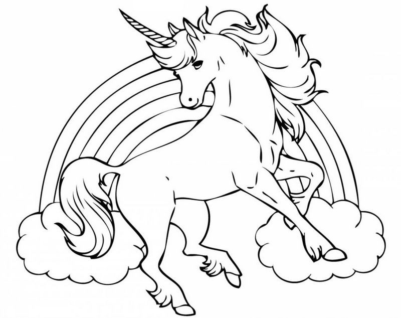 Flying Unicorn Coloring Sheet Unicorn Coloring Pages