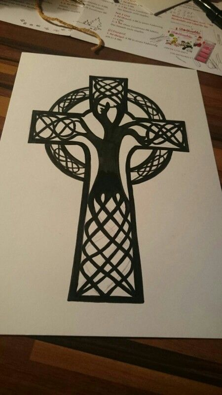Image Result For Covering A Cross Tattoo With A Tree Celtic