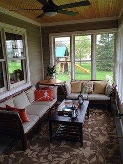 Ranch Home Addition With 3 Season Porch Small Sunroom Porch