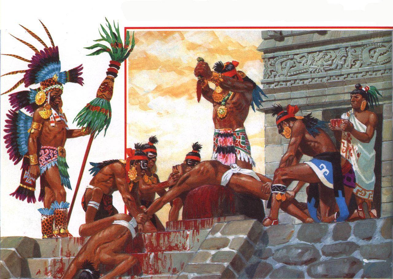 Au Temps Des Mayas Des Azteques Et Des Incas