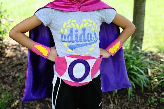 SUPERHERO OUTFIT - Super Hero Outfit - Child Super Hero Cape