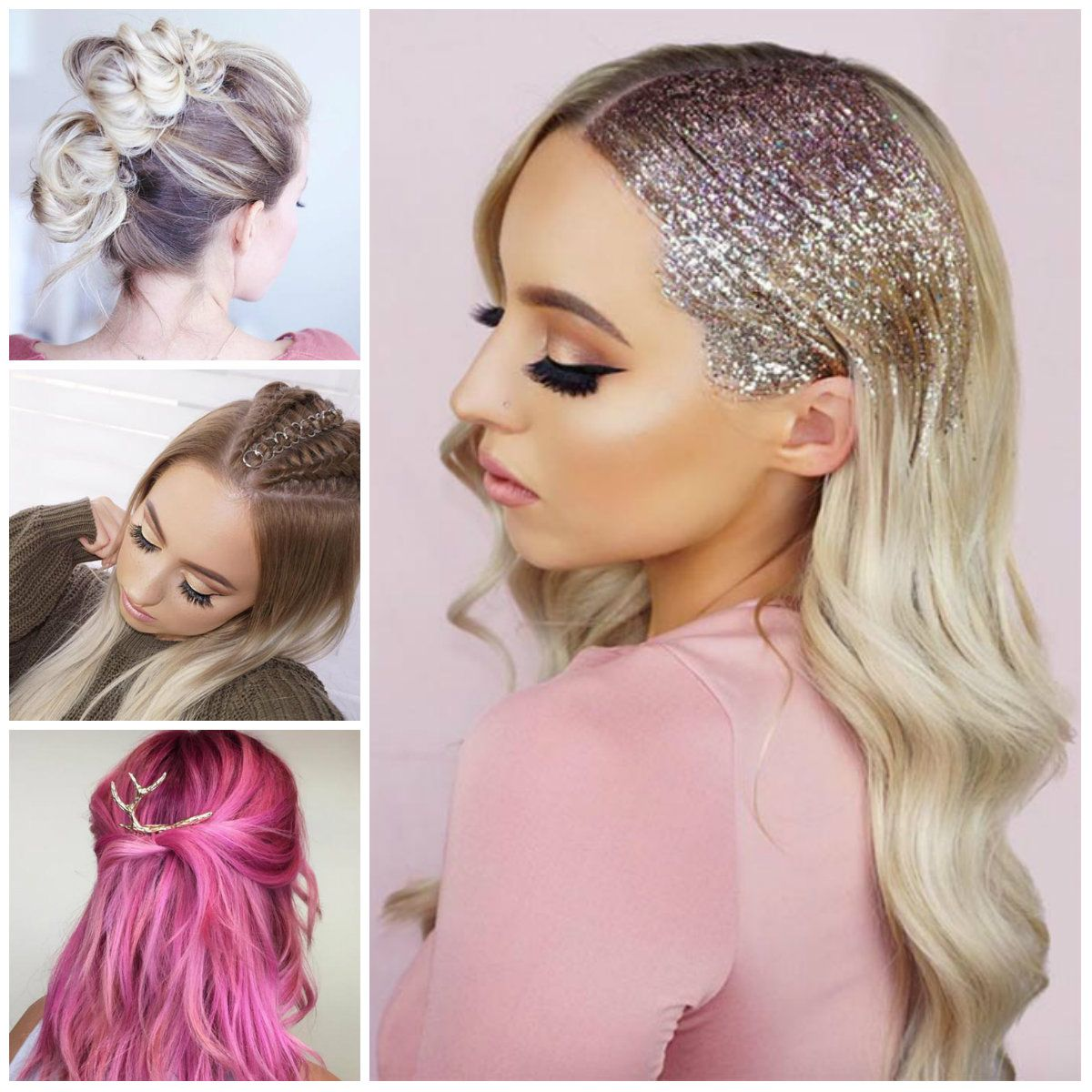 Pretty holiday hairstyles dollydollness pinterest long hairstyle