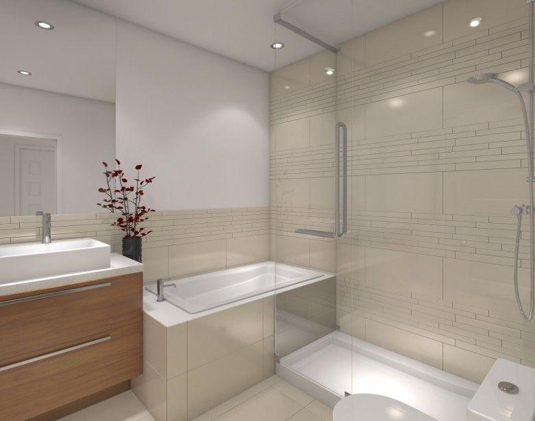 854443 salles bains comprennent baignoire 781 615 washroom pinterest washroom for Petite salle de bain douche baignoire