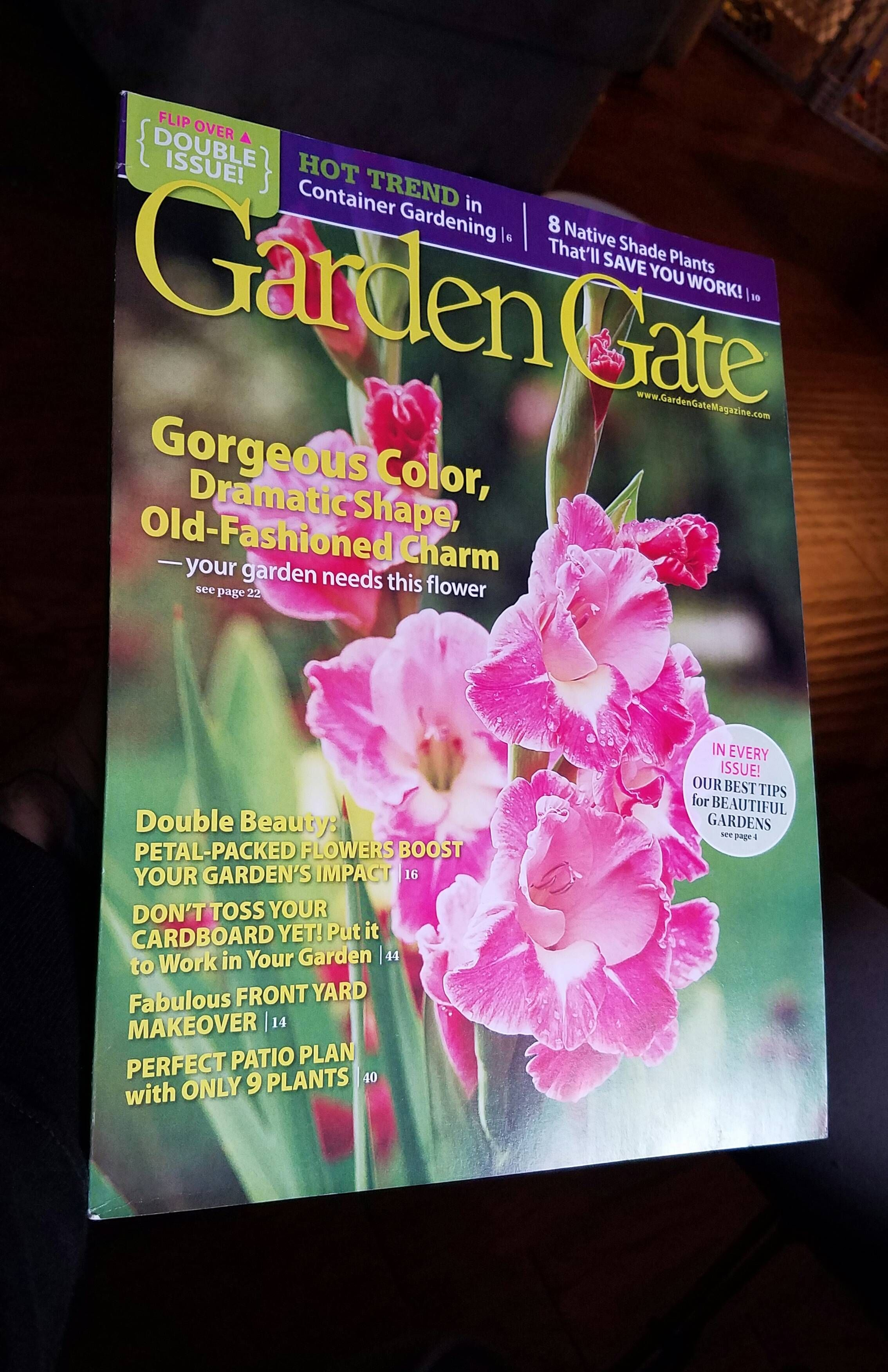 Found this magazine at Costco today. It has some very nice photography and garden ideas. Is there any others you guys recommend that might be worth buying? #gardening #garden #DIY #home #flowers #roses #nature #landscaping #horticulture