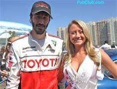 2009 Tecate Light Miss Toyota Grand Prix of Long Beach and Toyota Pro/Celebrity Race participant - Keanu Reeves