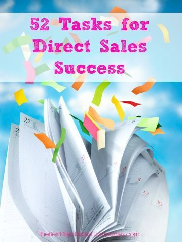 52 tasks for direct sales success in the new year direct sales