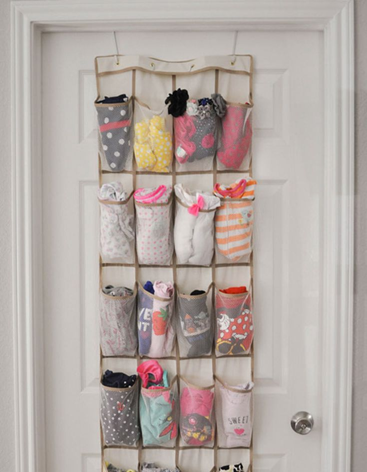 how to organize baby clothes sizes
