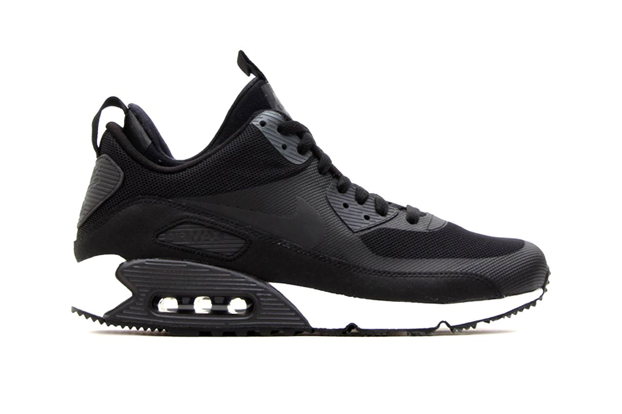 Nike Air Max 90 Armario Sneakerboot Black/Dark Charcoal White Armario 90 de 68b112
