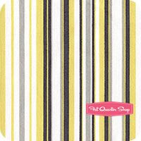 Citron Gray Citron Play Stripe Yardage SKU# CX3137-CTRN-D