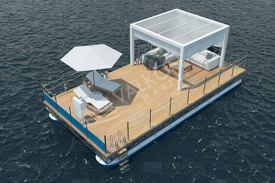 Korsar 6m 8m 10m Valkon Marine Pontoon Systems Pontoon Pontoon Boat Floating Dock Plans