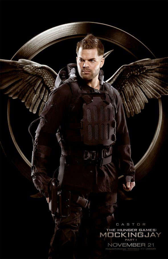 Pin for Later: Here Are All the Mockingjay Posters Wes Chatham as Castor