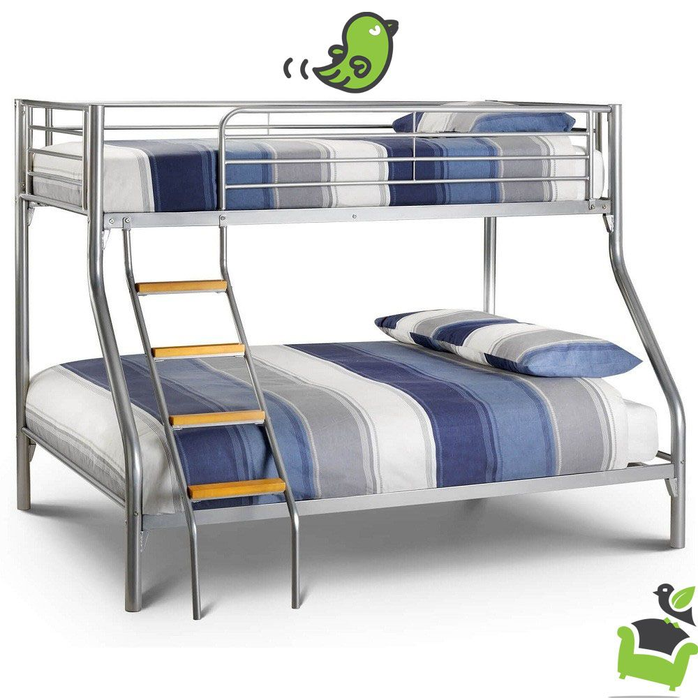 Atlas Triple Sleeper Bunk Bed Bedroom beds bunkbeds Camas