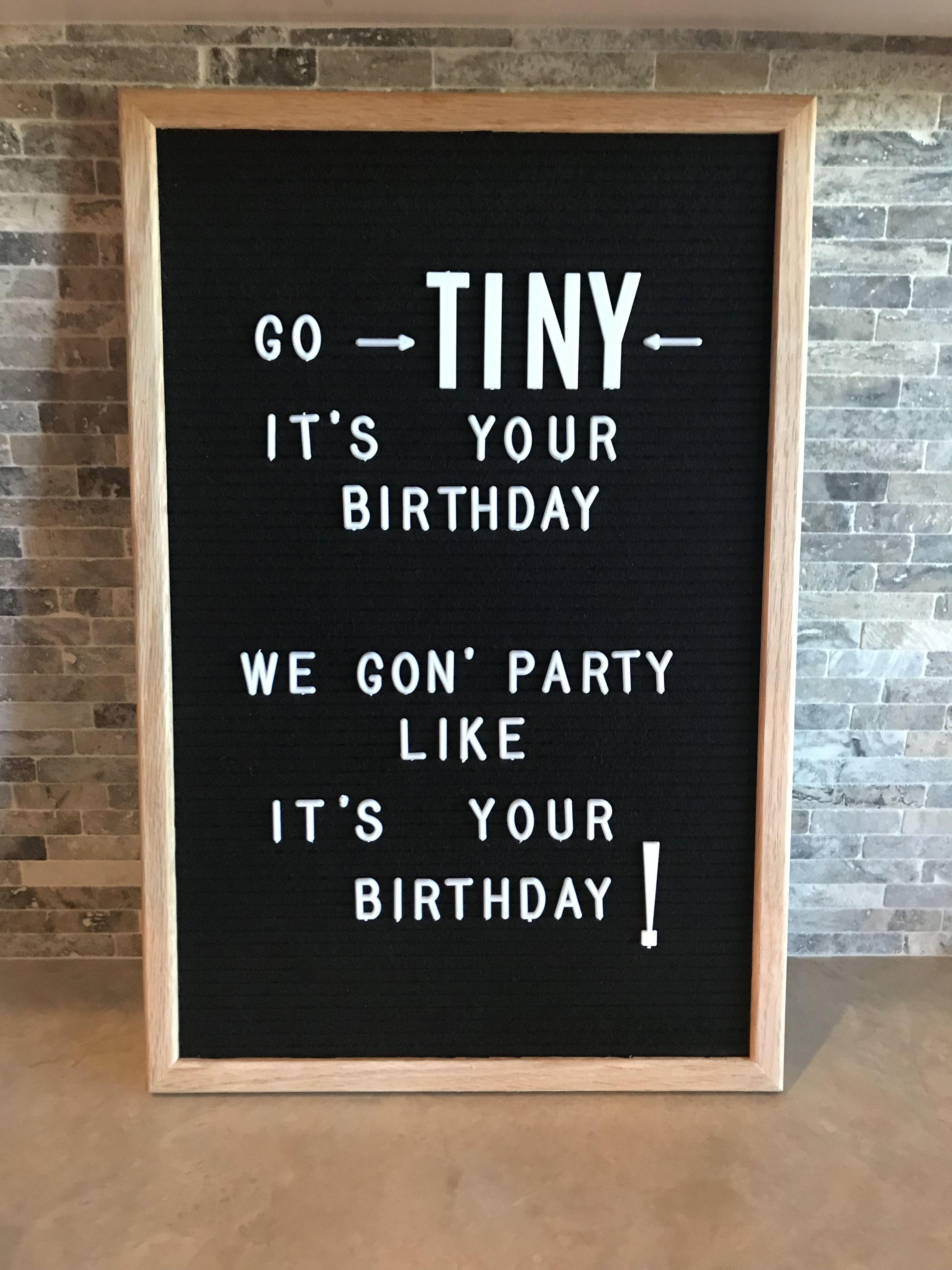 Chalkboard Ideas, Letter Board, Happy Things, Signage, Birthdays, Birthday