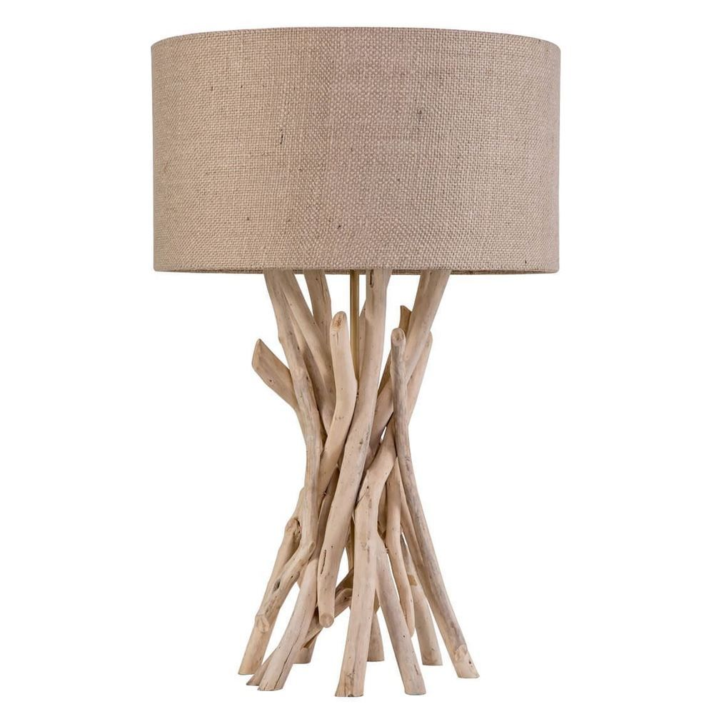 New natural finish twisted 60cm table lamp by freedom ebay new natural finish twisted 60cm table lamp by freedom ebay mozeypictures Gallery