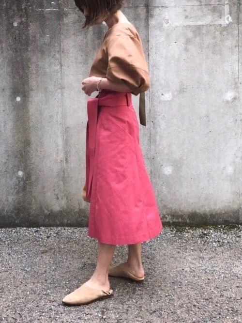ピンク×アースカラー。 エレンディークさんの春アイテムがほんま可愛い😩 ブログに他画像やサイズ感
