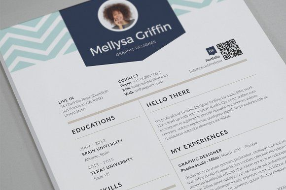 Simple Resume @creativework247 Resume Fonts Pinterest Simple - simple of resume
