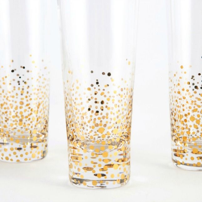 Bottoms Up! 20 Gorgeous Glasses You'll Want to Drink from Every Day via Brit + Co.