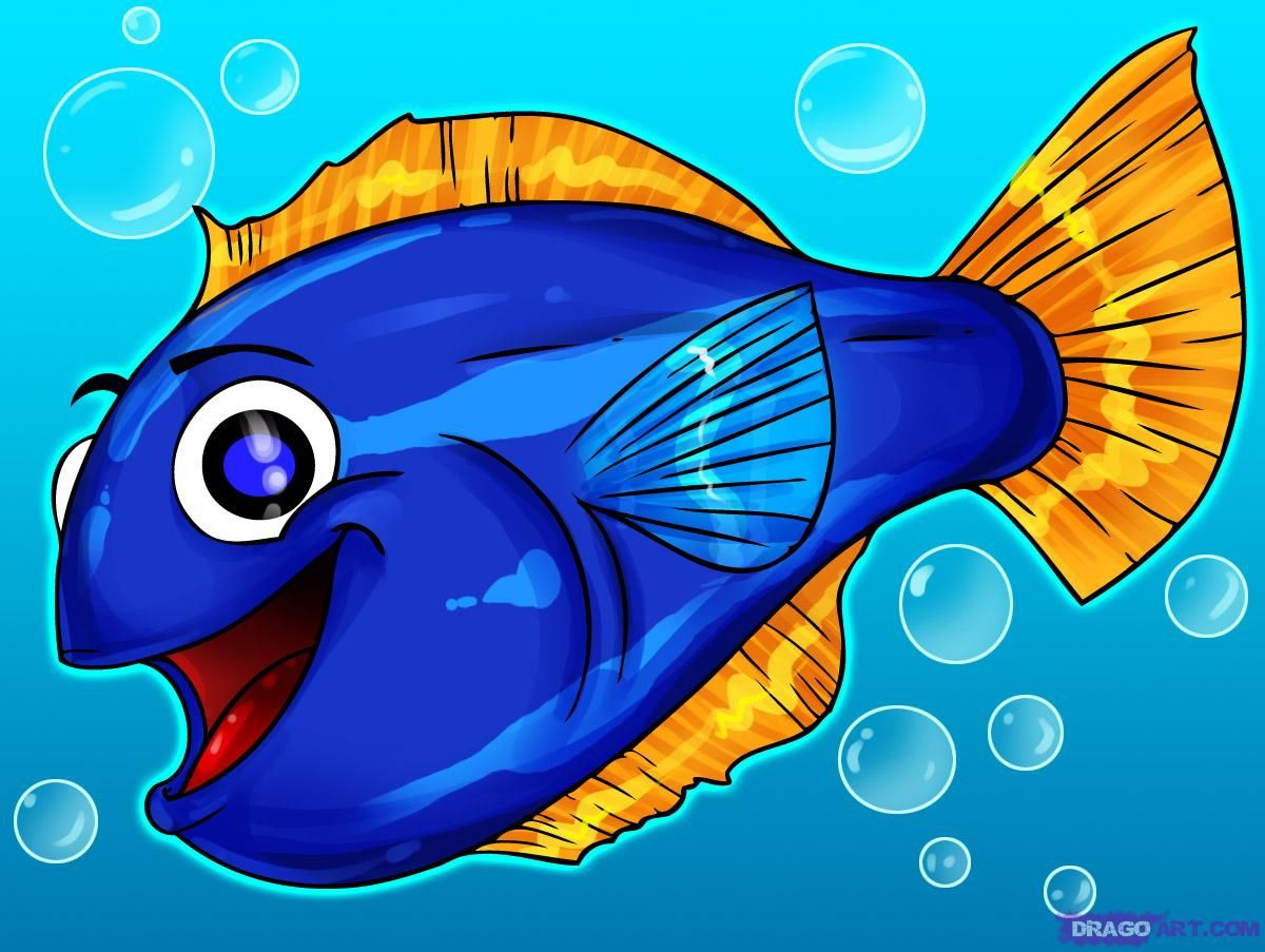 Cartoon fish coloring pages fish pouting fish sleepy cartoon fish - Funny Fish Drawing Draw Cartoons Draw Cartoon Animals Draw Fishes How To