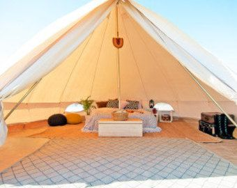 Stout Bell Tent - ULTIMATE SERIES Vintage Style Gl&ing - Canvas Festival Tent - Tipi Yurt Music Festivals Boho & Stout Bell Tent - ULTIMATE SERIES Vintage Style Glamping - Canvas ...