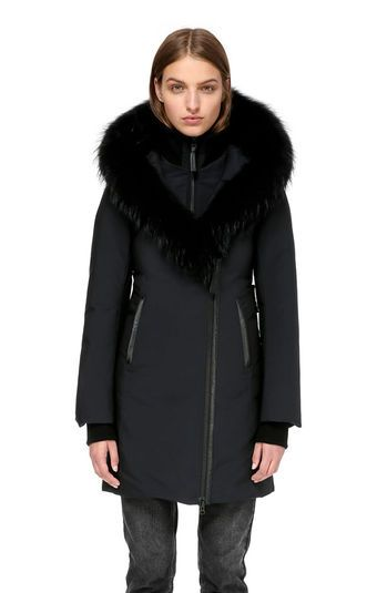 best supplier ever popular shopping Mackage KAY-P MID LENGTH WINTER DOWN COAT WITH FUR COLLAR ...