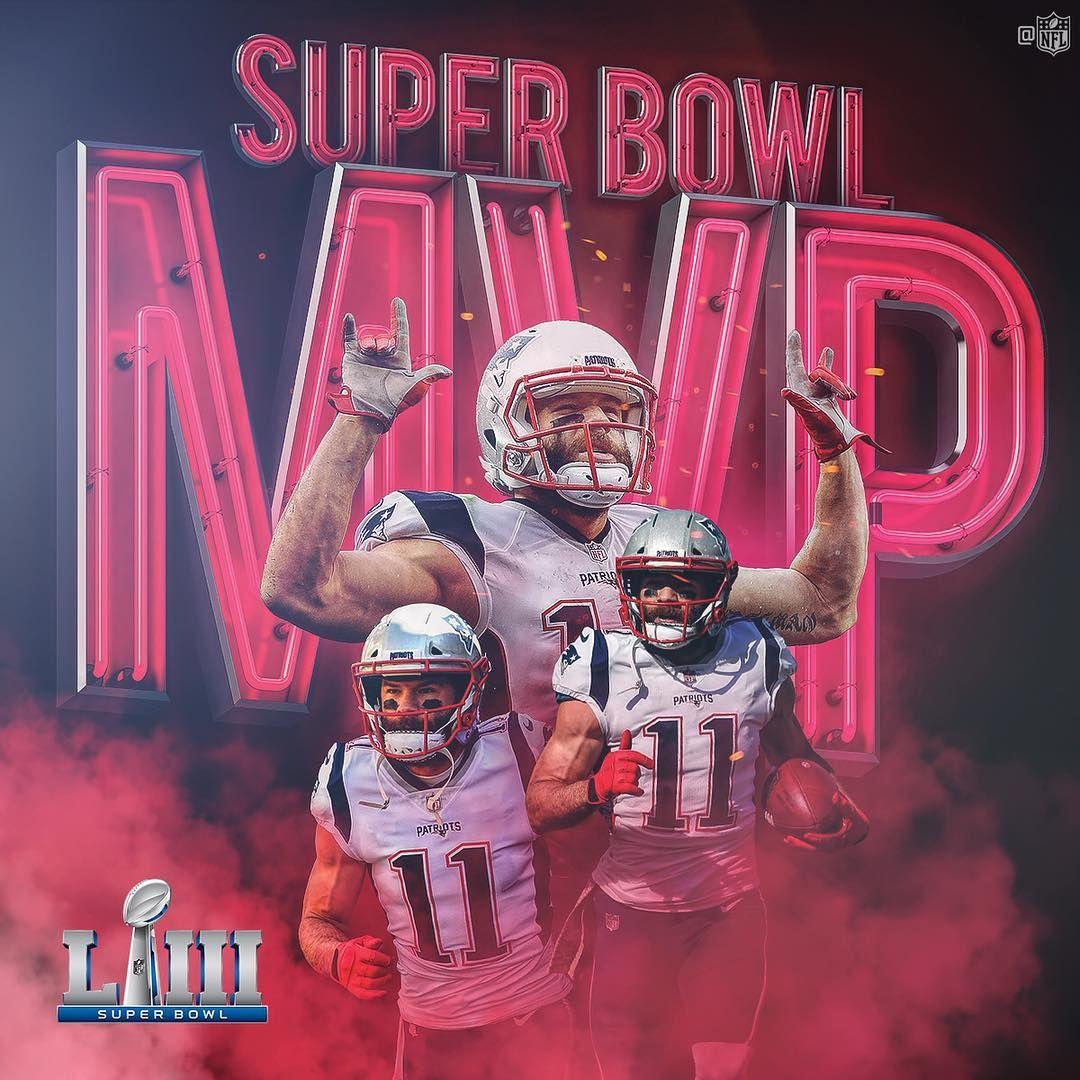 Nfl On Instagram Super Bowl Liii Mvp Julian Edelman11 Sbliii Everythingwegot Patriots Super Bowl Patriots Football