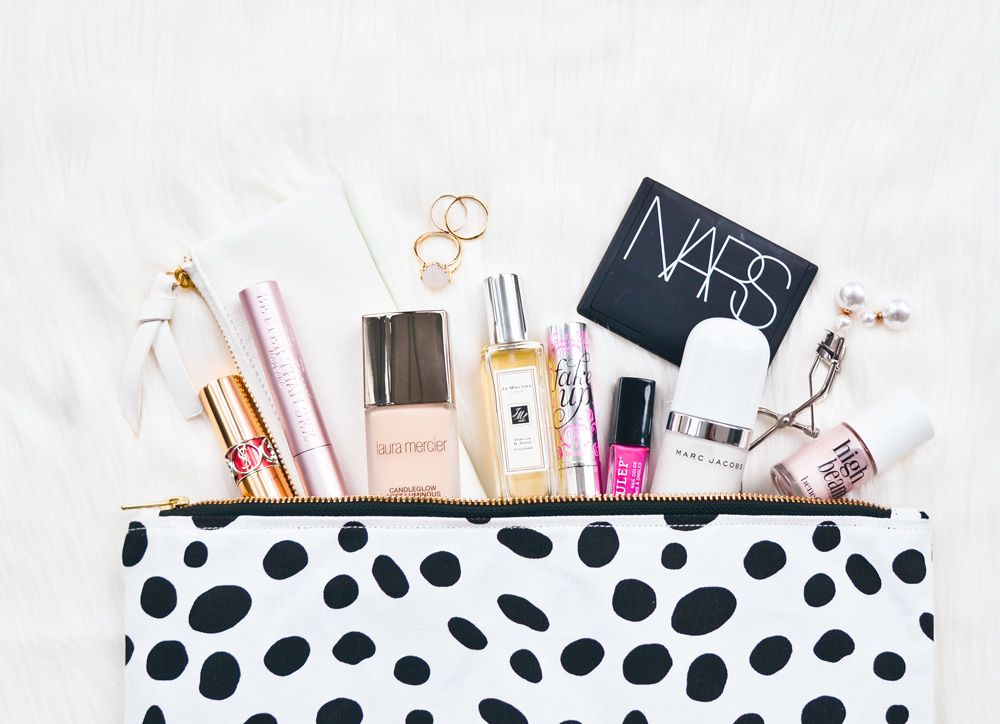 What's In My Bag ~ a peek into makeup artist Oz Zandiyeh's makeup bag for what she's currently loving