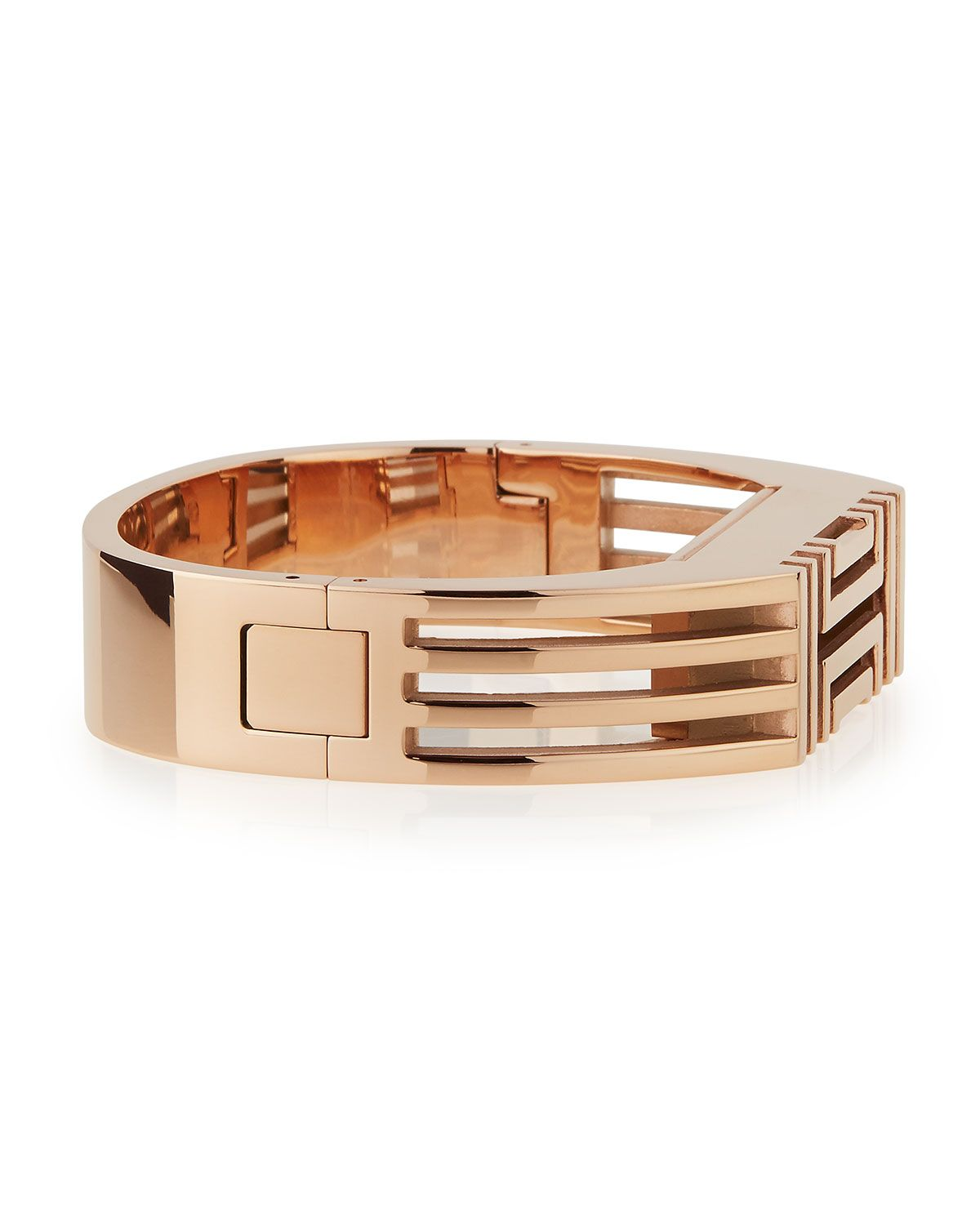 6e1898c7b5a1 Rose Gold-Plated Fitbit-Case Bracelet