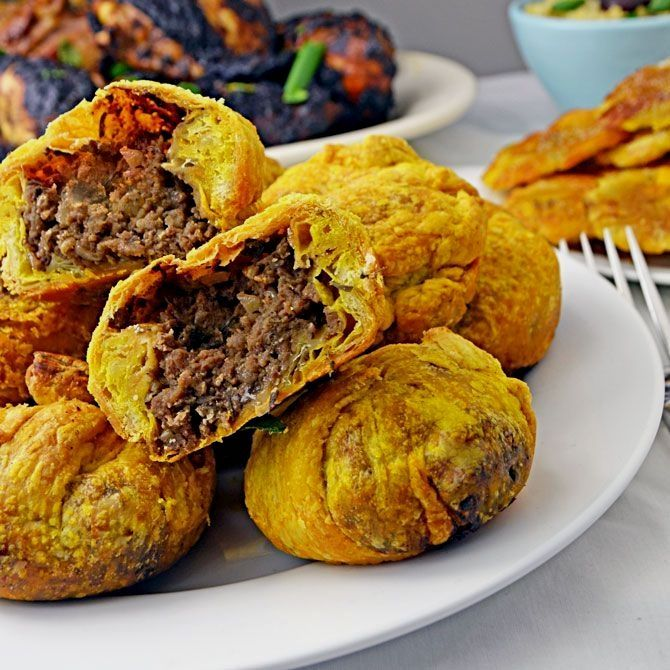 these flaky homemade bundles of spicy beef taste like