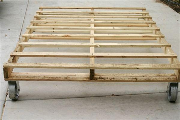 pallet beds - Google Search   Pallets   Pinterest   Wooden pallet ...