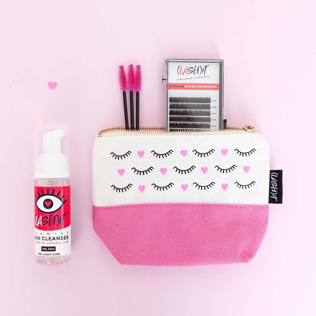 Eyelash extension value pack! What you get? lashcleanser