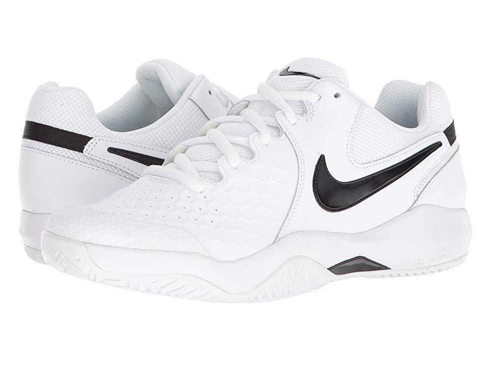 dbeba3909bb36 Nike Air Zoom Resistance (White Black) Men s Tennis Shoes. Dominate the  court