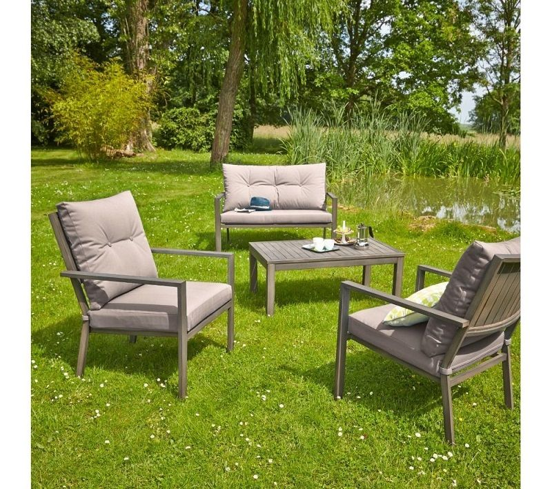 Epingle Sur Salon De Jardin Gris