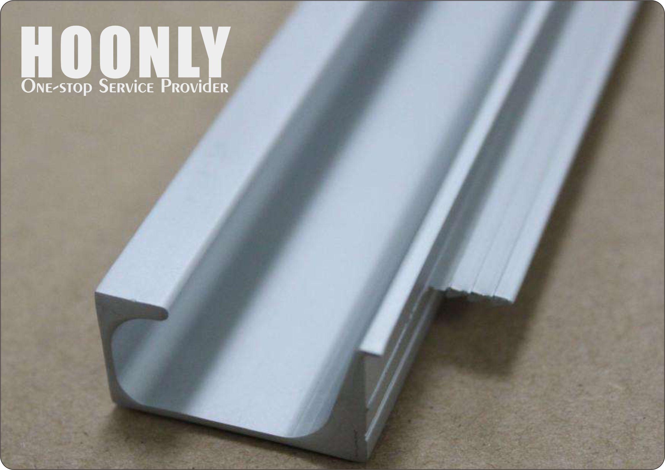 Hoonly China Aluminium Extrusion Profile Supplier Aluminum Kitchen Cabinets Aluminum Furniture Aluminum Extrusion