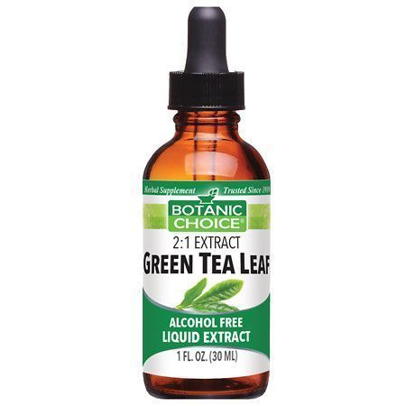 Photo of Botanic Choice Green Tea Leaf Herbal Supplement Liquid 10 oz. Green Tea …