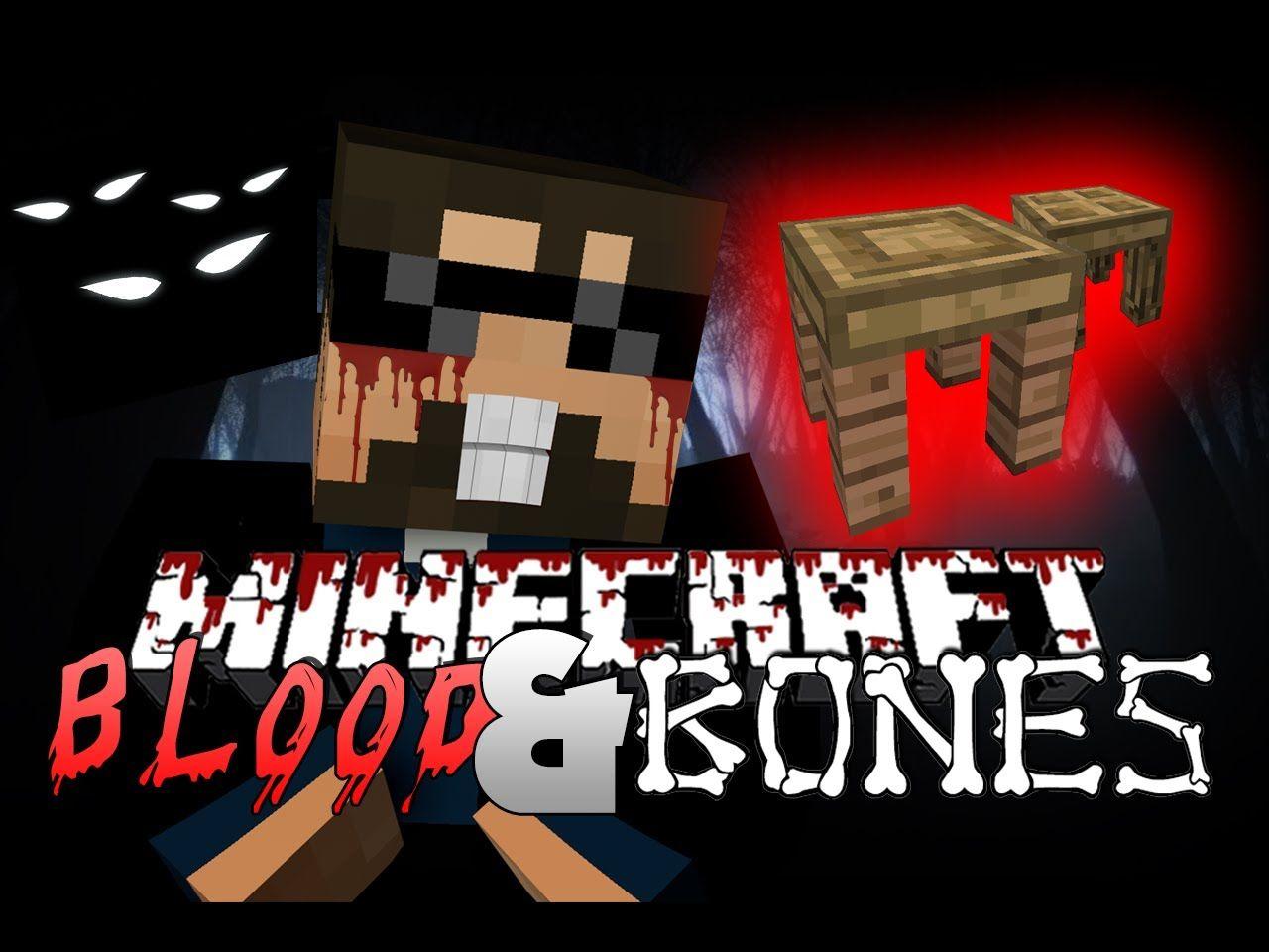 Minecraft FTB BLOOD AND BONES - THIS IS HARD (Minecraft Mod