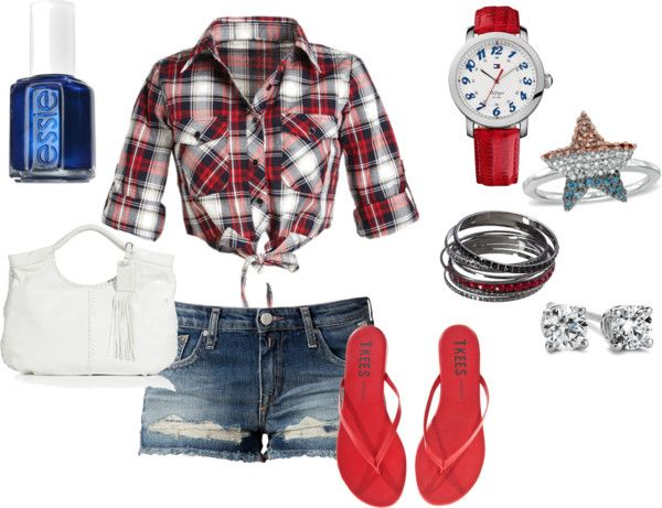 """""""4th of July"""" by rachphx on Polyvore"""