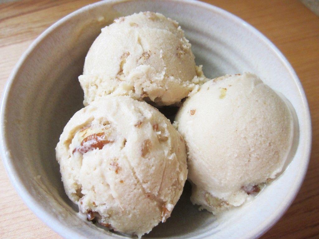 Maple Pecan Raw Vegan Ice Cream Recipe Vegan Ice Cream Vegan Ice Cream Recipe Vegan Maple Pecan Ice Cream