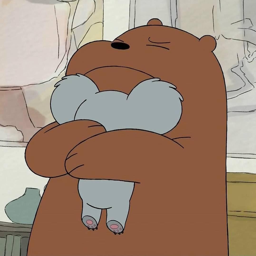 A Animacao We Bare Bears Ursos Sem Curso Narra A Historia De Pardo Panda E Polar Tres Forasteiros Tenta Wallpapers Bonitos Urso Desenho Animado Ursos Fofos