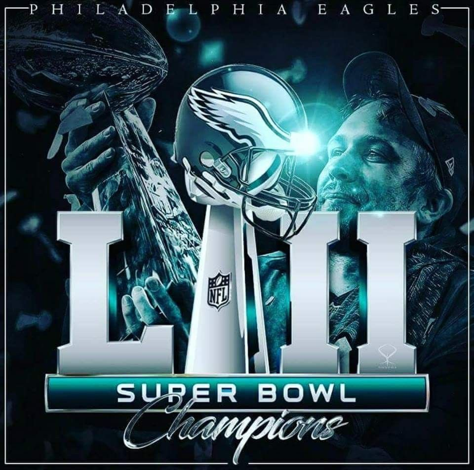 Super Bowl Champions Philadelphia eagles football
