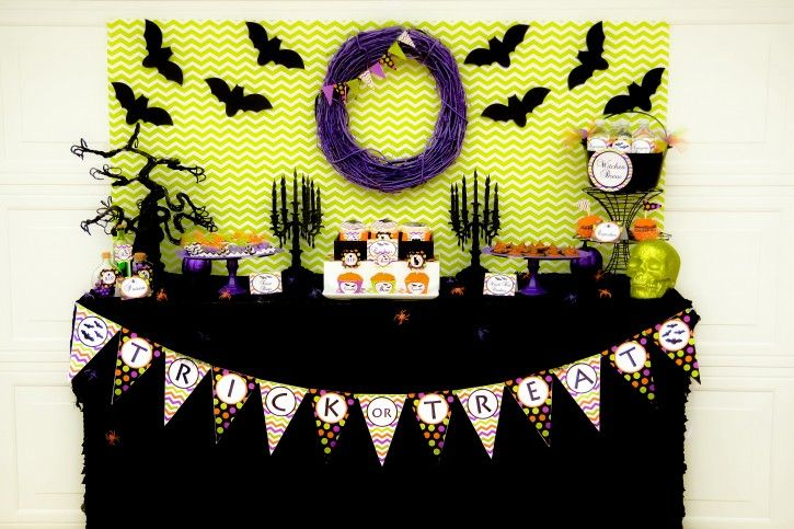 Spooktacular Halloween Party! DIY Ideas Pinterest Halloween - decoration ideas for halloween party