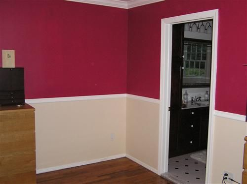 ... Red Accent Walls Master