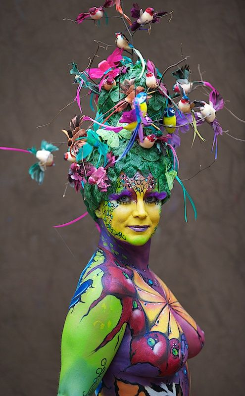 World Body Painting Festival 2010, Seeboden, Austria ...
