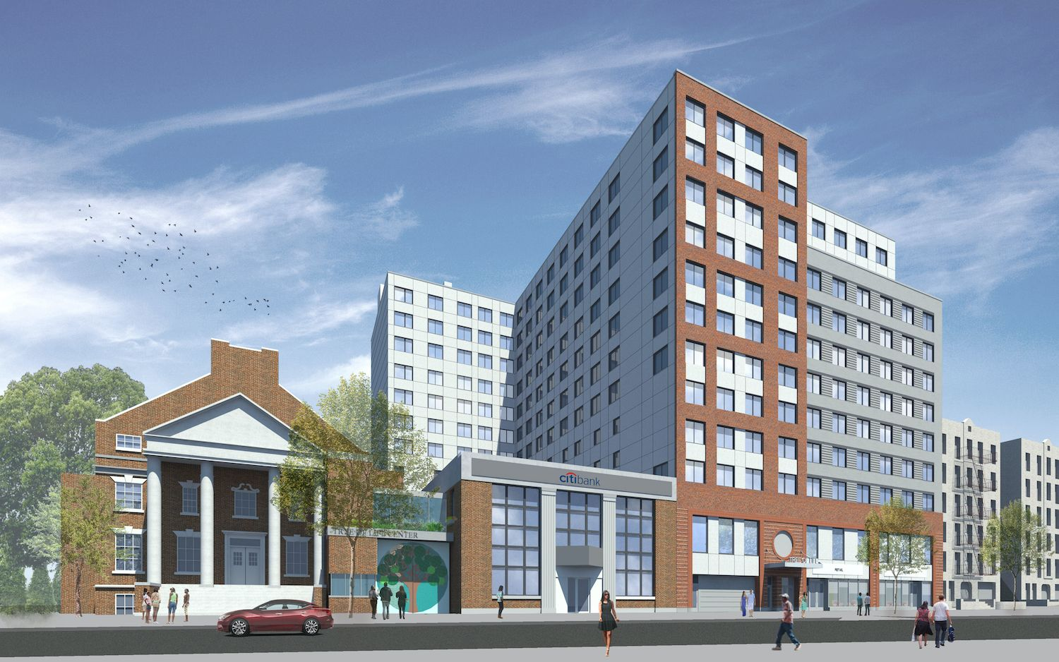 The Affordable Housing Lottery Has Launched For Tree Of Life A 12 Story Mixed Use Building At 89 46 164t In 2021 Mix Use Building Commercial Architecture Architecture