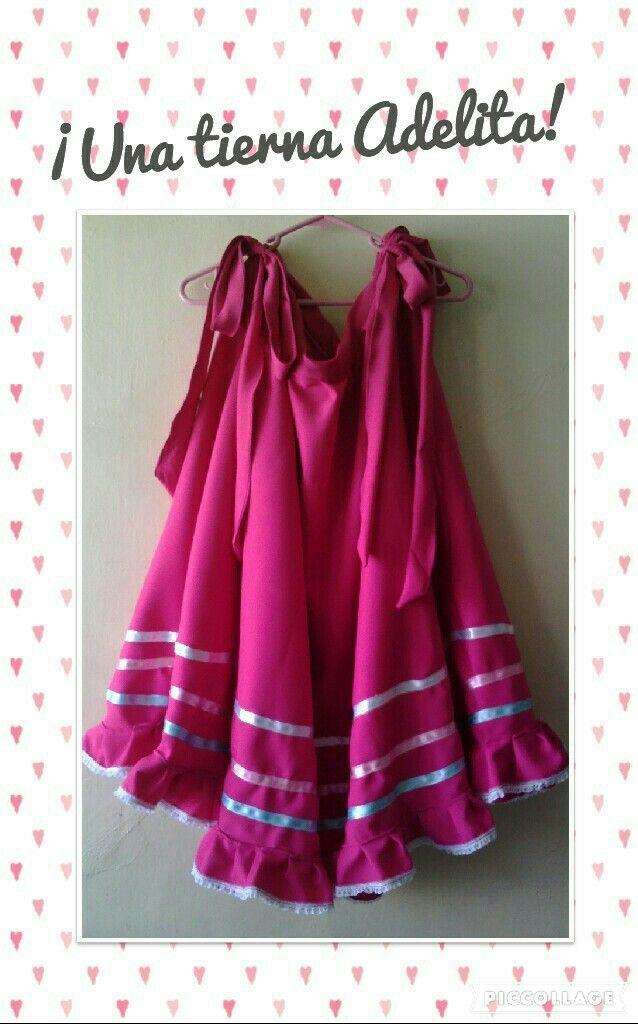7a1a42e24 Falda de adelita | Costura | Falda de adelita, Faldas, Vestidos