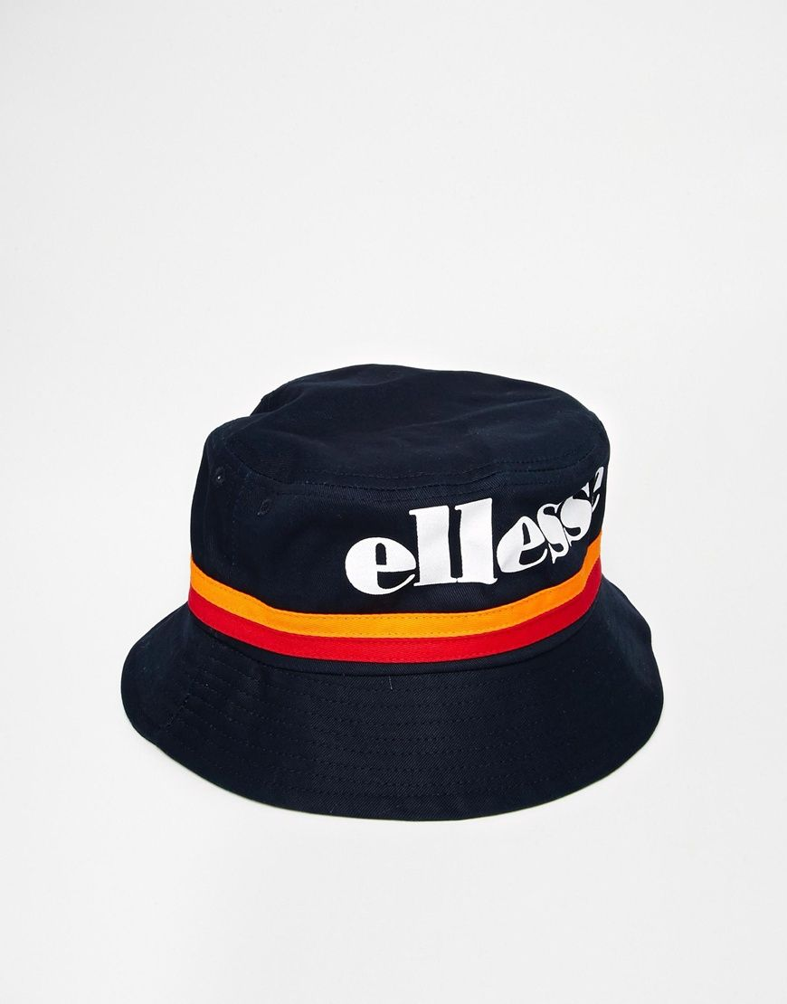 6842007a758dd Ellesse Bucket Hat in Canvas