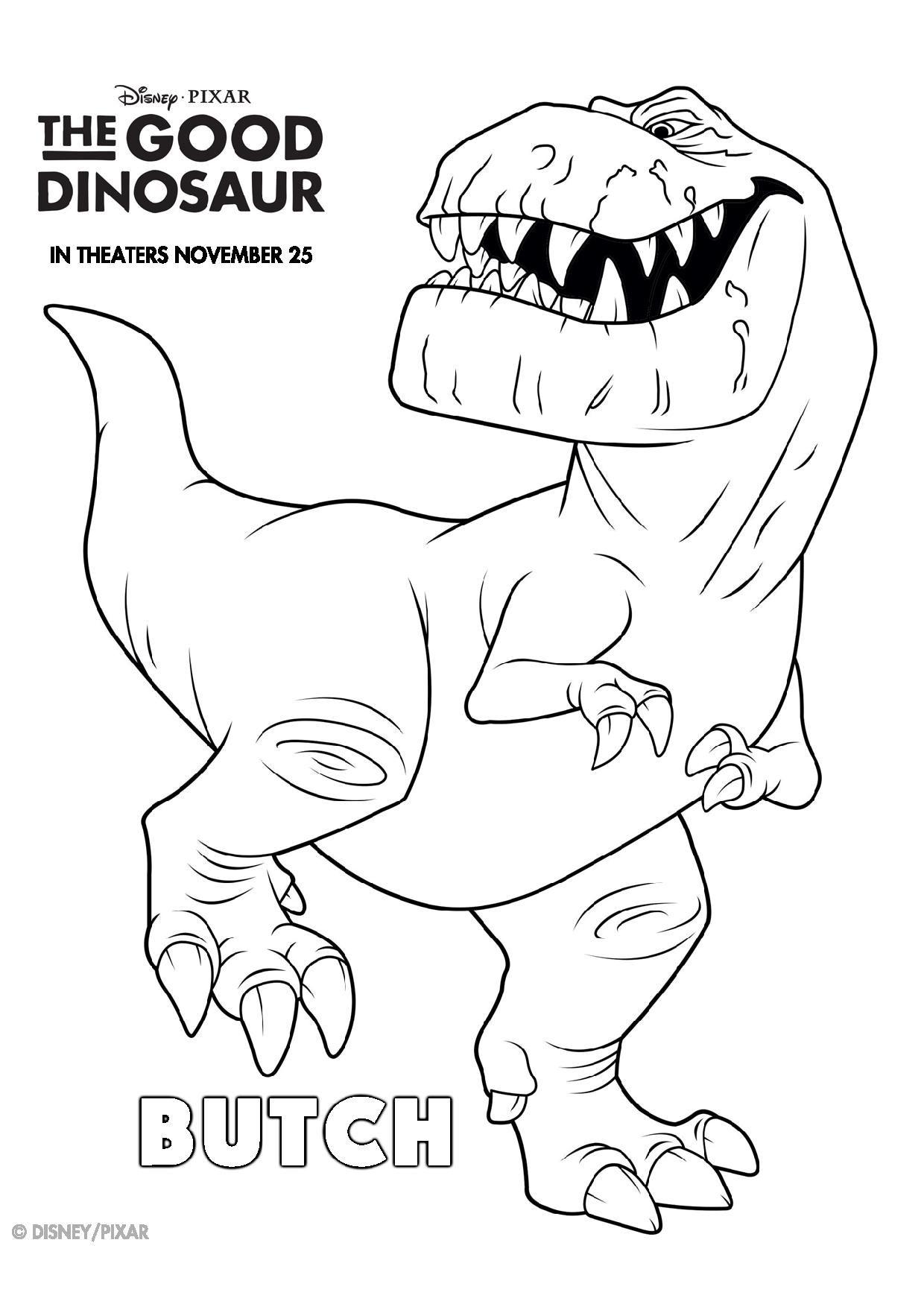Le voyage d 39 arlo 2 vacances avril pinterest coloriage dinosaure le voyage d 39 arlo et - Modele dessin dinosaure ...