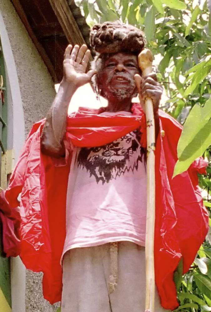 Ras Boanerges/ Bong Watto (Nyahbingi Elder) | Jamaica, Caribbean ...