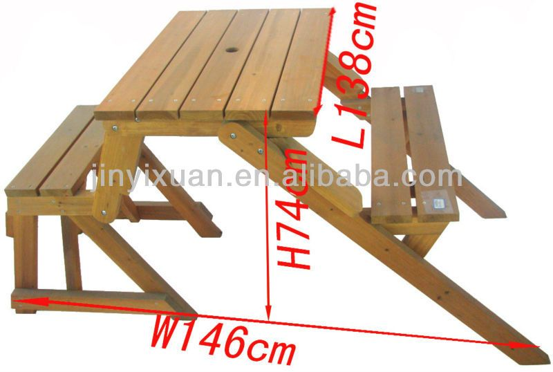 mesas-de-madera-plegables-para-exterior | hhh | Pinterest | Mesa de ...