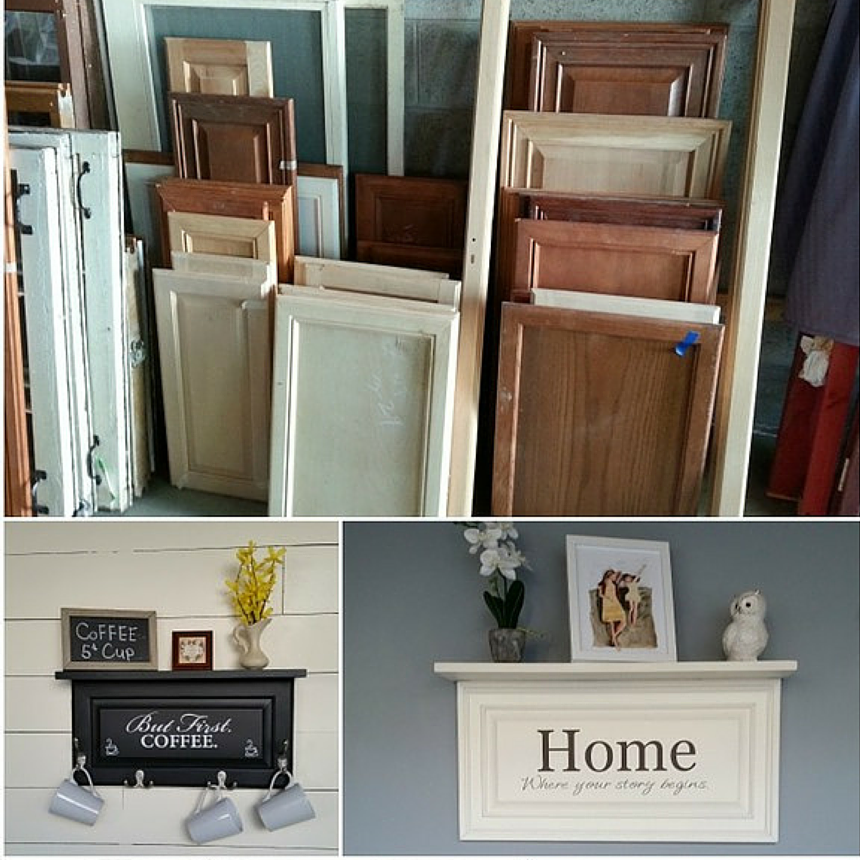 NEAT: A Great Way To Re-purpose Old Cabinet Doors! #moms