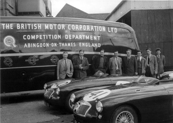 mga british motor corporation bmc competition department abingdon england mga factory race. Black Bedroom Furniture Sets. Home Design Ideas